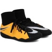 Nike HYPERVENOMX PHELON 3 DF IC Football Shoes For Men(Black, Yellow)