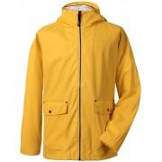 Didriksons Dylan Mens Jacket Yellow PU Regnjacka Herr Didriksons