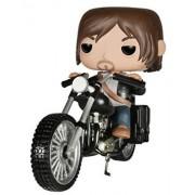 Funko 4713 Pop Rides Walking Dead Daryl's Bike Action Figure, Multi Color