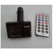 "1.4"" LCD MP3 Player FM трансмитер - USB/MicroSD Card + USB порт за зареждане 2.1А"