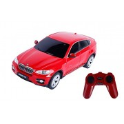 Toyhouse Officially Licensed Rastar BMW X6 1:24 Scale Model Car, Red