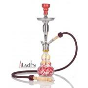 Aladin Loop 55 cm vízipipa — piros