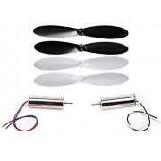 Ares Spectre X Propellers & 8mm Cup Motors Counter or Clockwise Reversible Wires Dual Engines - FAST FREE SHIPPING FROM Orlando, Florida USA!
