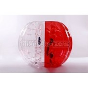 Inflatable-ZoneTM Bubble Soccer Bubbles, bumper ball, human hamster ball, bubble football - Red