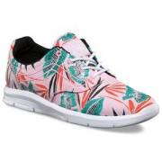 Vans Sneakers, ISO 1,5, Tropical Leaves, Pink Lady/True White Barnskor 34 EU