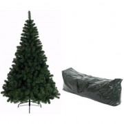 Bellatio Decorations Kunst kerstboom Imperial Pine 210 cm met opbergzak
