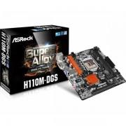 Asrock Intel 1151 Socket mATX MB ASR-H110M-DGS-RMA
