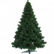 Brad de Craciun Artificial Verde Natural Atlanta Lux 180 cm si Suport Cadou