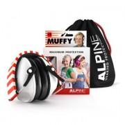 Alpine Hearing Protection Alpine Gehoorbescherming Muffy, wit