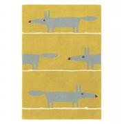 Brink & Campman tapijt Scion Mr. Fox Mustard 25306 - geel - 120x180 cm - Leen Bakker