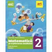 Matematica si explorarea mediului. Caiet de lucru Clasa a II-a partea I