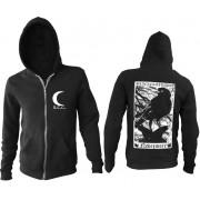kapucnis pulóver férfi - Nevermore - BLACK CRAFT - ZS018NE
