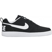Men s Nike Court Borough Low Shoe Black/White 8 D(M) US