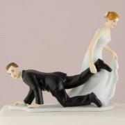 "Figurina Tort Comica Model 1 ""Tras Picior"". COD F280"