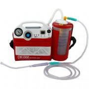 aspiratore portatile boscarol ob1000 per secreti emergenza - flacone r