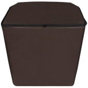 Dream Care Coffee Waterproof Dustproof Washing Machine Cover For semi automatic GEM GWS82DROT 6.2 Kg Washing Machine