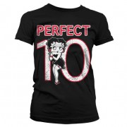 Betty Boop Perfect 10 Girly T-Shirt