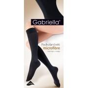 Gabriella - Classic opaque knee highs Microfibre