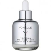 Yonelle Trifusíon crema líquida con efecto lifting para el contorno de ojos y cara 50 ml