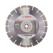 Bosch - Expert for Concrete - Disc diamantat de taiere segmentat, 300x25.4/20x2.8 mm, taiere uscata, calitate medie