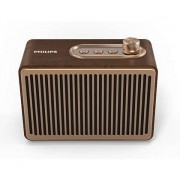 SPEAKER, Philips TAVS500, Bluetooth, Wood