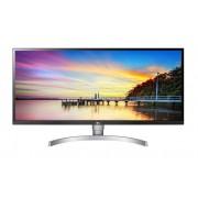 """Monitor LG 34"""", 34WK650-W, 2560x1080, LCD LED, IPS, 5ms, 178/178o, HDMI 2x, DVI-D, DP, Zvučnici, bijela, Freesync, 36mj"""