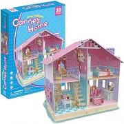 CubicFun Deram Dollhouse 3D Jigsaw Puzzle - Set of 93 Pieces