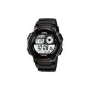 Relógio Masculino Casio Esportivo Hora Muldial 48 Cidades AE-1000W-1AV