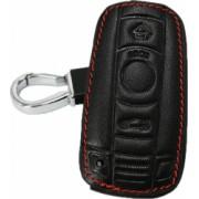 Husa pentru cheia auto BMW E90 E60 E70 E87 M3 M5 X1 X5 X6 Z4 din piele ecologica