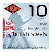 Rotosound BS10 British Steel Electric Guitar Strings (10-46)