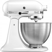 KitchenAid 5K45SSBWH Food Mixer - White