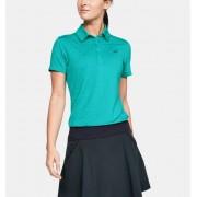 Under Armour Women's UA Zinger Short Sleeve Polo Blue MD