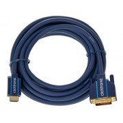ClickTronic HDMI - DVI Casual Cable 5m