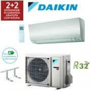 Daikin Climatizzatore Daikin Bluevolution Perfera New 2019 Ftxm20n - Rxm20m9/n9 - 7000 Btu Gas R32 Wi-Fi Incluso + Staffe