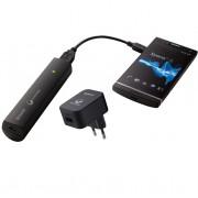 Sony USB Portable Power Supply AC/USB Adaptor 2000 mAh - резервна външна батерия за Sony мобилни телефони (черен)