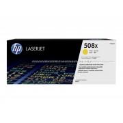 HP CF362X Toner Yell 9,5k No.508X Eredeti HP kellékanyag Cikkszám: CF362X