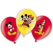Mickey Mouse Ballonnen Deluxe 28cm 6 stuks