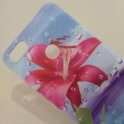 Калъф за Huawei P9 Lite Mini силиконов гръб червено цвете