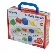 Activitati educative Miniland forme geometrice, 40 de piese