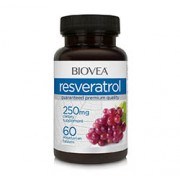 RESVERATROL 250mg 60 Vegetarian Tablets