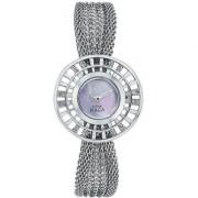 Titan Quartz Silver Round Women Watch 9931SM01