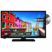 Nikkei NLD24MSMART TV - HD-Ready 24 inch LED DVD combi smart televisie