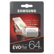 Card Memorie Samsung micro SDXC EVO Plus UHS-1 64GB + Adaptor SD