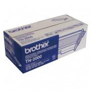 0 Brother TN2000 BK svart Lasertoner, Original