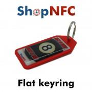 Portachiavi NFC - Grafica resinata