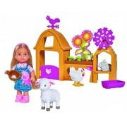Simba Игровой набор Счастливая ферма с куклой Еви