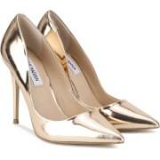 Steve Madden Women Gold Heels