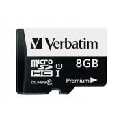 Memorija micro SD 8GB Verbatim Class 10, UHS-I 44081