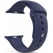 Wotchi Silikonový řemínek pro Apple Watch - Tmavě modrý 42/44 mm - S/M