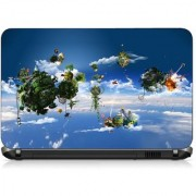 VI Collections ANIMATED FLOATIN OBJECT pvc Laptop Decal 15.6